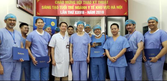 中美2535亿大单以往都是日本、新加坡等发达国家的医生去越南进行大动脉腔内治疗的培训